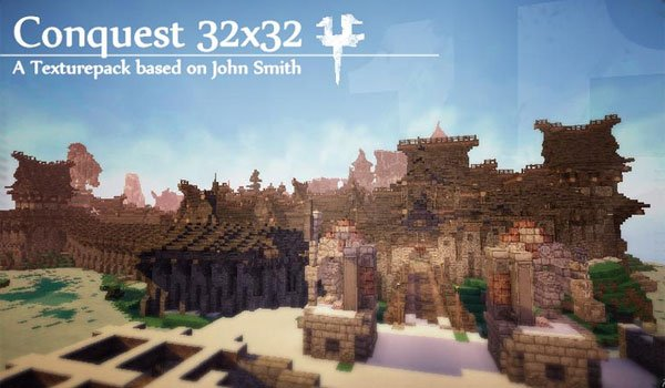 Conquest Texture Pack for Minecraft 1.8