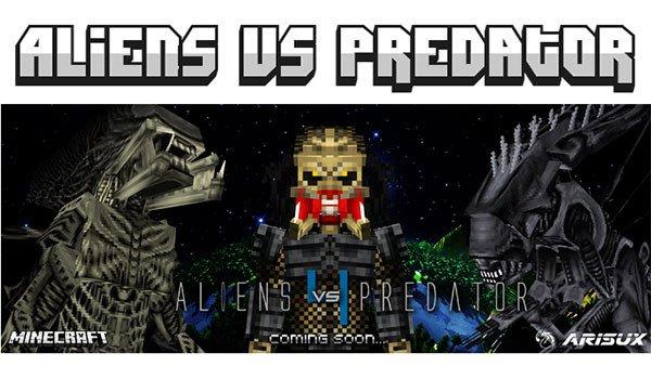 Alien vs Predator Mod for Minecraft 1.7.10