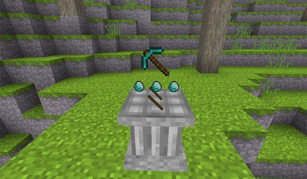Crafting Pillar Mod for Minecraft 1.7.2 and 1.7.10