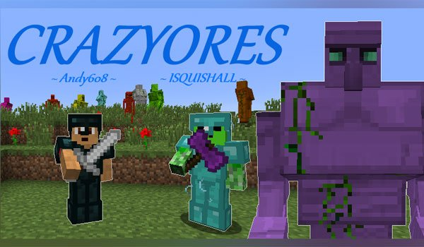 CrazyOres Mod for Minecraft 1.7.10