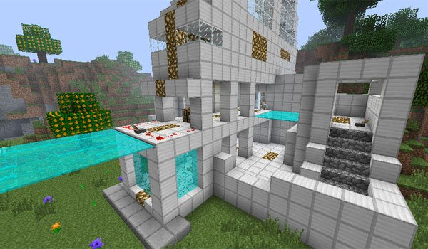 Light Bridges and Doors Mod for Minecraft 1.7.2 and 1.6.4