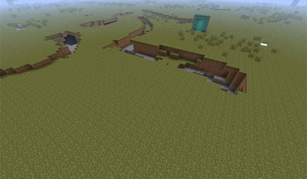 Mining World Mod for Minecraft 1.7.2 and 1.7.10