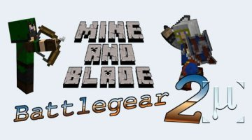 Mine and Blade 2 Mod for Minecraft 1.8.9 and 1.7.10