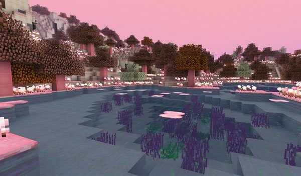 image of the new dimension added, of mod candycraft 1.7.2 and 1.7.10.