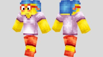Milhouse Skin for Minecraft