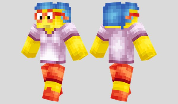 Milhouse Skin for Minecraft