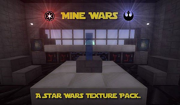 Mine Wars Texture Pack for Minecraft 1.6.4