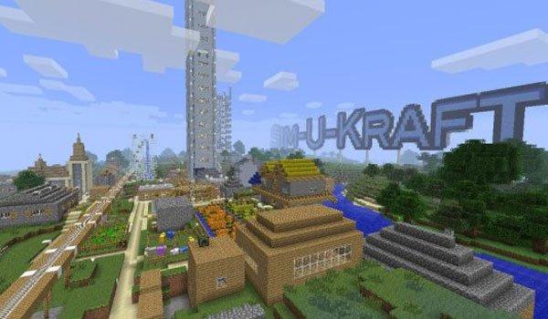Sim-U-Kraft Mod for Minecraft 1.7.10