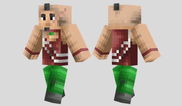 Vaas Montenegro Skin for Minecraft