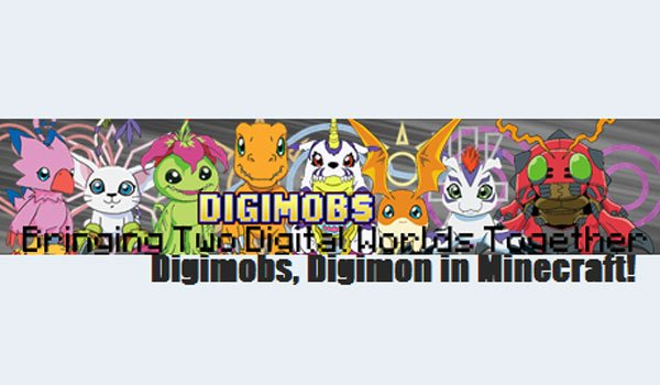 DigiMobs Mod for Minecraft 1.7.10 and 1.7.2