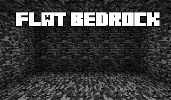 Flat Bedrock Mod for Minecraft 1.7.2 and 1.7.10