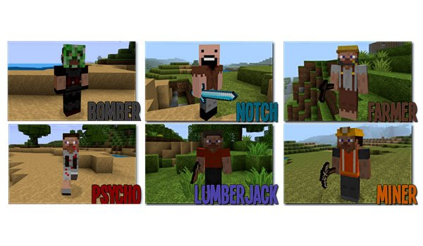 Mo' People Mod for Minecraft 1.7.2