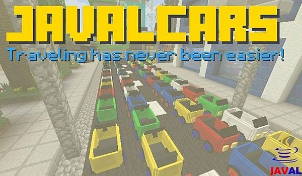 JavalCars Mod for Minecraft 1.7.2