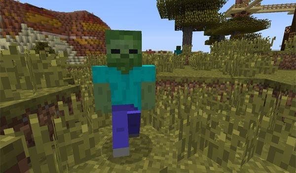 CrackedZombie Mod for Minecraft 1.8 and 1.7.10