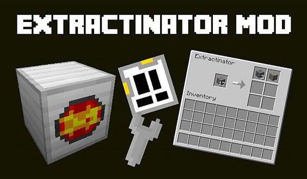 Extractinator Mod for Minecraft 1.7.2