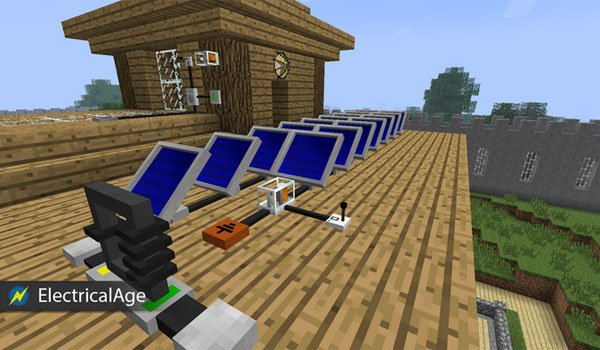 Electrical Age Mod for Minecraft 1.7.2 and 1.7.10