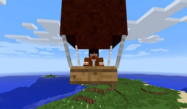 Pchan3′s Airship Mod for Minecraft 1.7.2 and 1.7.10