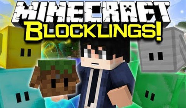The Blocklings Mod for Minecraft 1.7.2 and 1.7.10