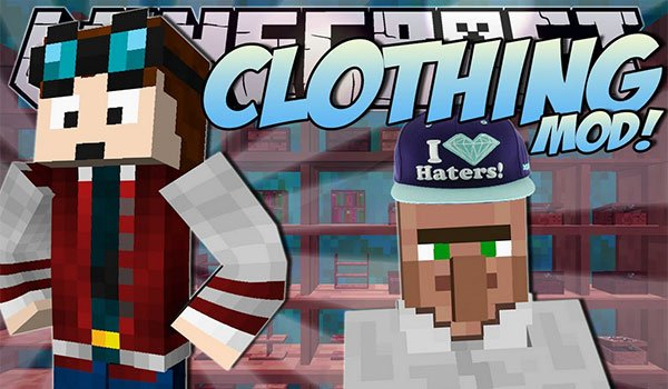 ClothingCraft Mod for Minecraft 1.7.10