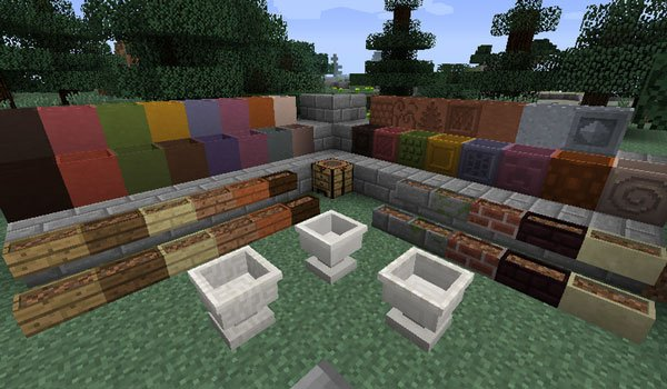 Garden Stuff Mod for Minecraft 1.7.10