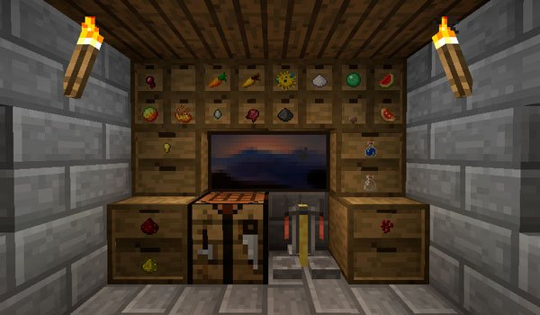 Storage Drawers Mod for Minecraft 1.10 and 1.10.2