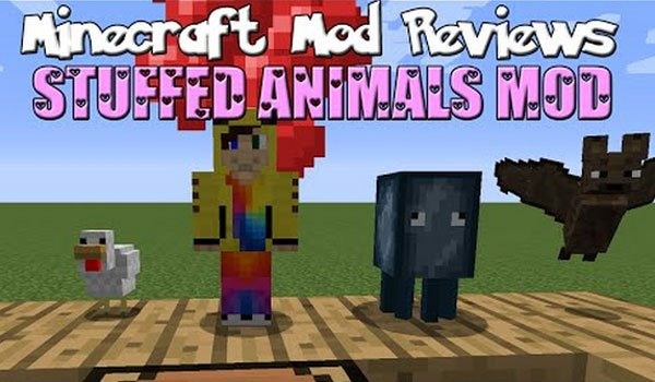 Stuffed Animals Mod for Minecraft 1.7.10