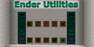 Ender Utilities Mod for Minecraft 1.7.2 and 1.7.10