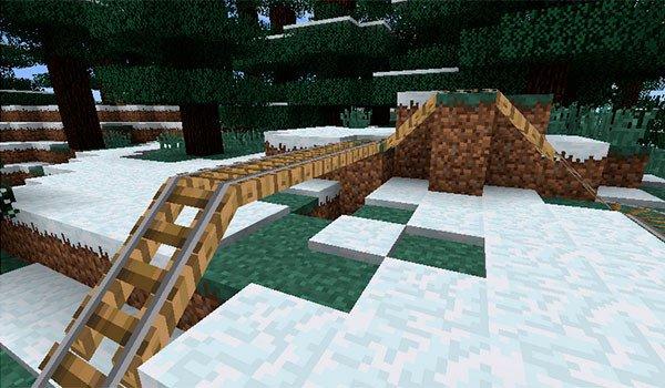 Rail Bridges Mod for Minecraft 1.7.10