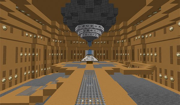 image of the interior of the TARDIS We can create it with the mod TARDIS 1.7.10 .