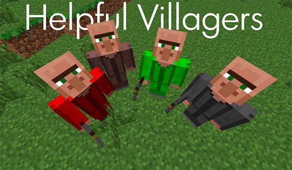 Helpful Villagers Mod for Minecraft 1.7.10