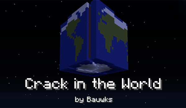 Crack in the World Map for Minecraft 1.8