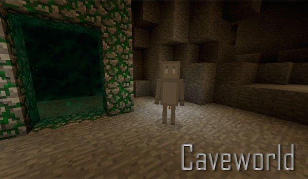 Caveworld Mod for Minecraft 1.7.10