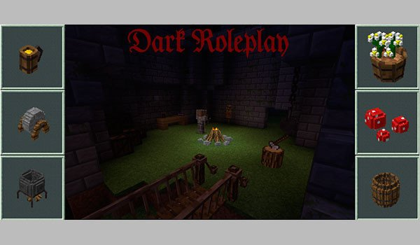 Dark Roleplay Mod for Minecraft 1.8