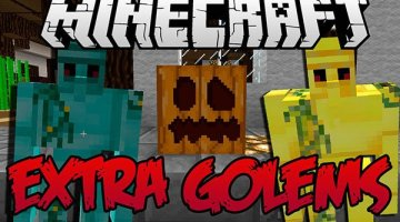 Extra Golems Mod for Minecraft 1.12 and 1.12.2