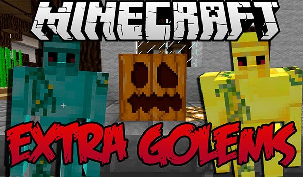 Extra Golems Mod for Minecraft 1.7.10