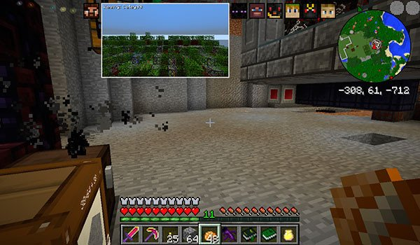 Picture-in-Picture Mod for Minecraft 1.8