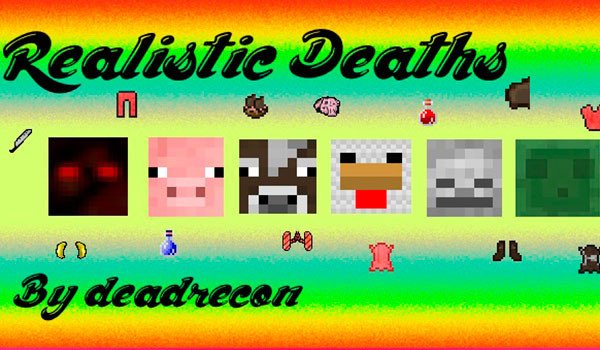 Realistic Death Mod for Minecraft 1.7.10