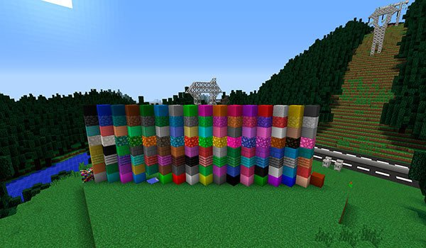 Monoblocks Mod for Minecraft 1.7.10