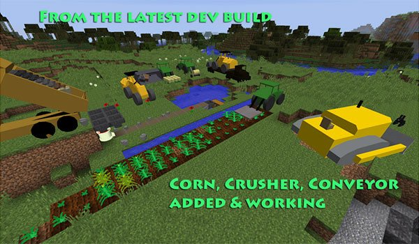 TechStack's Heavy Machinery Mod for Minecraft 1.8
