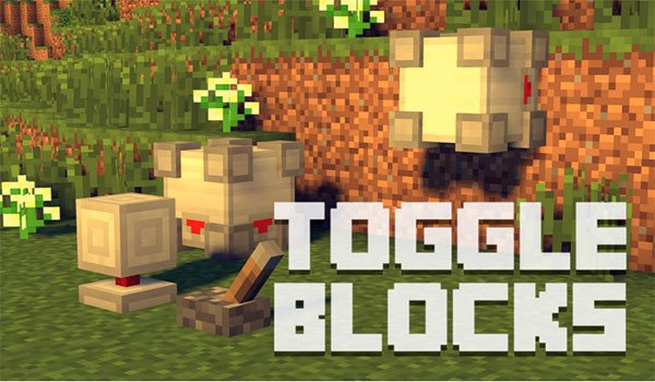 Toggle Blocks Mod for Minecraft 1.7.10