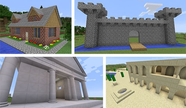 ArchitectureCraft Mod for Minecraft 1.8