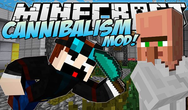 Cannibalism Mod for Minecraft 1.8