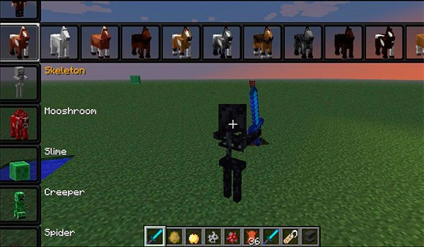 Morph Mod for Minecraft 1.7.10 and 1.7.2