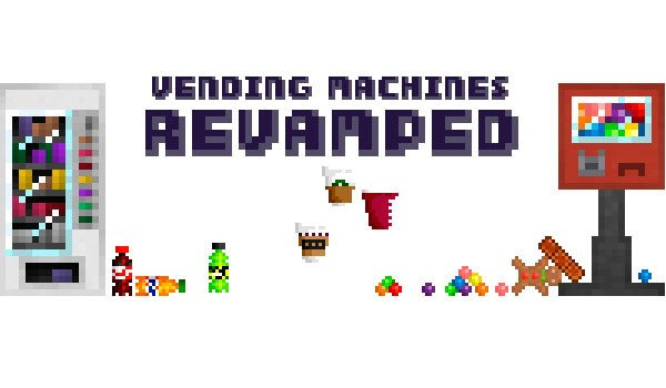 Vending Machines Mod for Minecraft 1.7.10