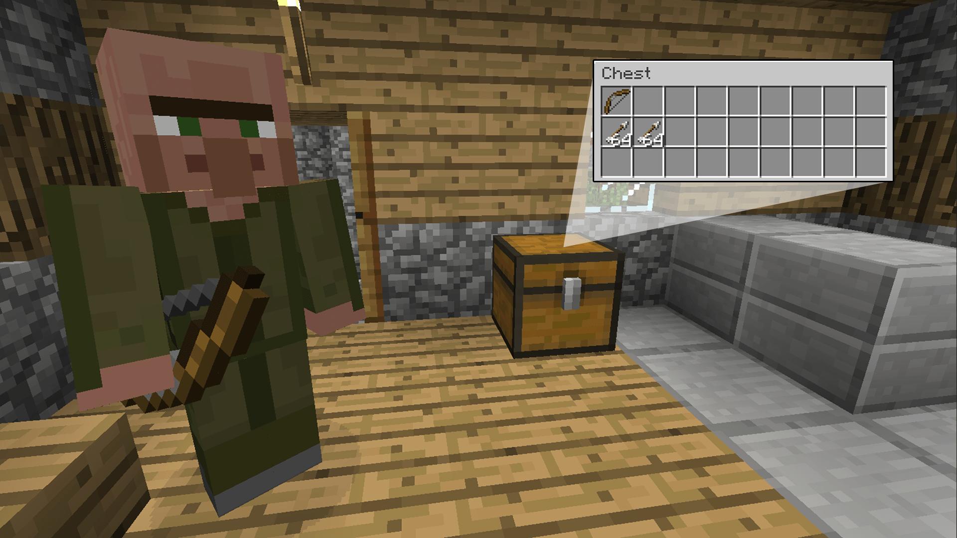 мод helpful villagers v1.3.1 cкачать для майнкрафт 1.7.10 #1