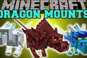 Dragon Mounts Mod for Minecraft 1.11/1.10.2/1.10