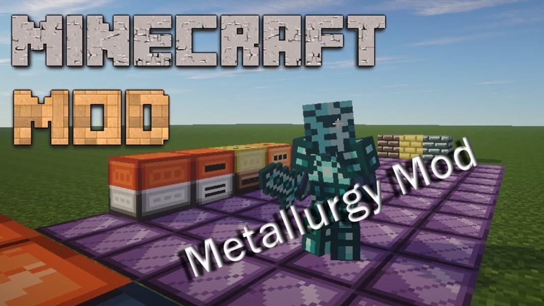 скачать мод металургия на майнкрафт 1.7.10 #11