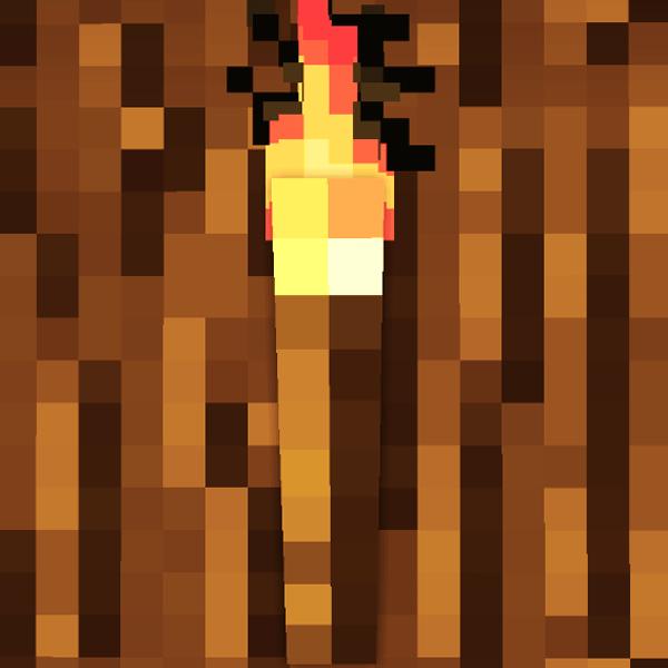 Мод на реалистичный факел в майнкрафт 1.7.2