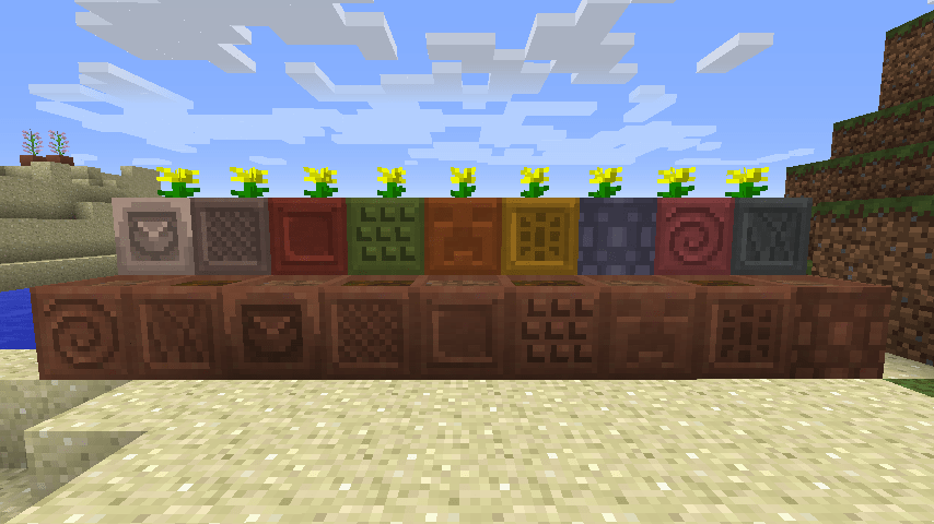 Where Do You Get Stuff Make Flower Pot Minecraft