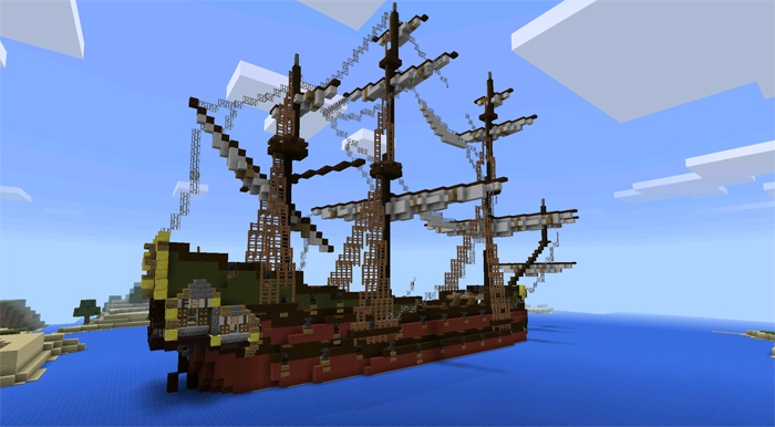18th Century Ships Minecraft Pocket Edition Maps Amp Mods